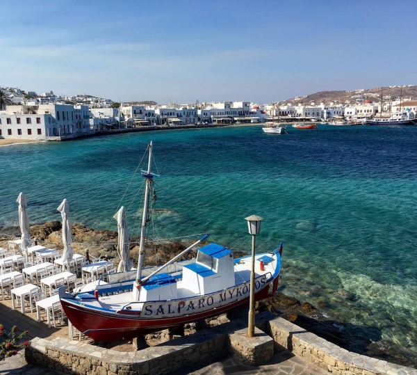 Chora - Weltbekannte Insel Mykonos, Griechenland