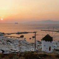 Weltbekannte Insel Mykonos, Griechenland