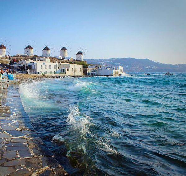 Klein-Venedig - Weltbekannte Insel Mykonos, Griechenland