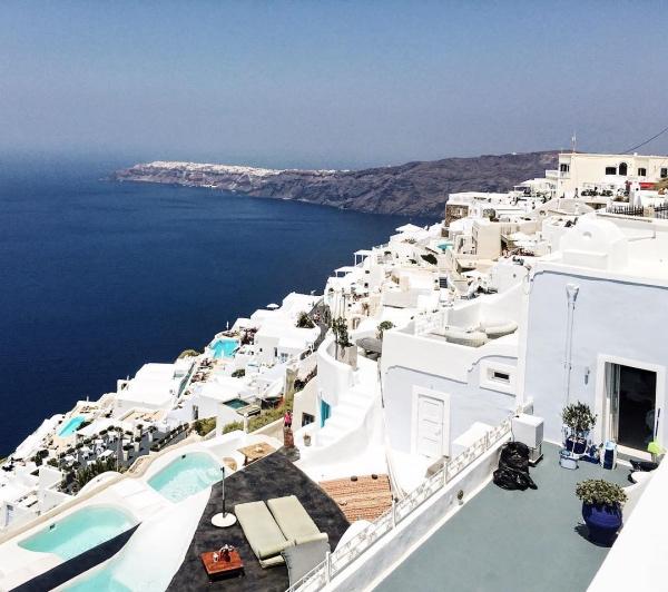 Santorini - Weltweit Top 10 Hochzeitsreise Ort