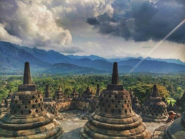 Borobudur / Indonesien