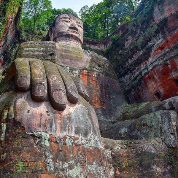 Große Buddha von Leshan / China