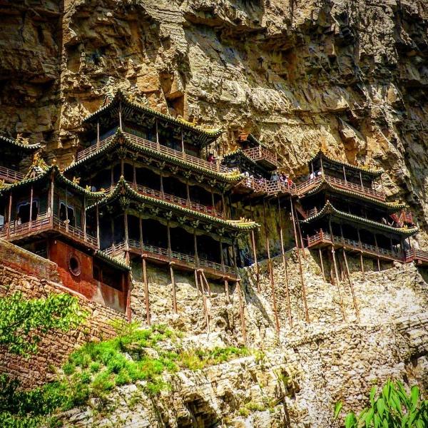 Hängender Tempel (Xuánkōngsì) / China